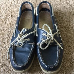 Navy Sperry Top-Sider
